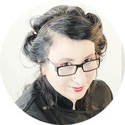 Virginia García, co-autora del libro Cocina Vegana
