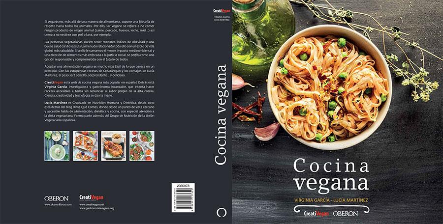 Portada del libro cocina vegana por virginia garc a y for Que es la cocina vegana